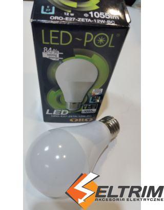 ŻARÓWKA LED ORO-E27-ZETA-12W-BC LED-POL $