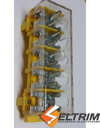 ODGAŁĘŹNIK LZ5x25/10 ODM 22P TH35 pokrywa SIMET $